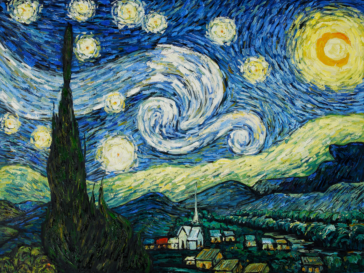 "<b>Vincent</b> <b>van</b> <b>Gogh</b>'s ""<b>Starry</b> <b>Night</b>"" Most Popular Oil Painting in 2011"