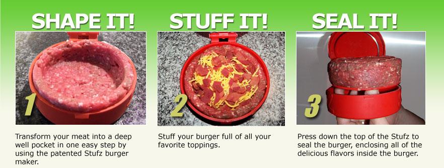 Stuffed Hamburger Patties