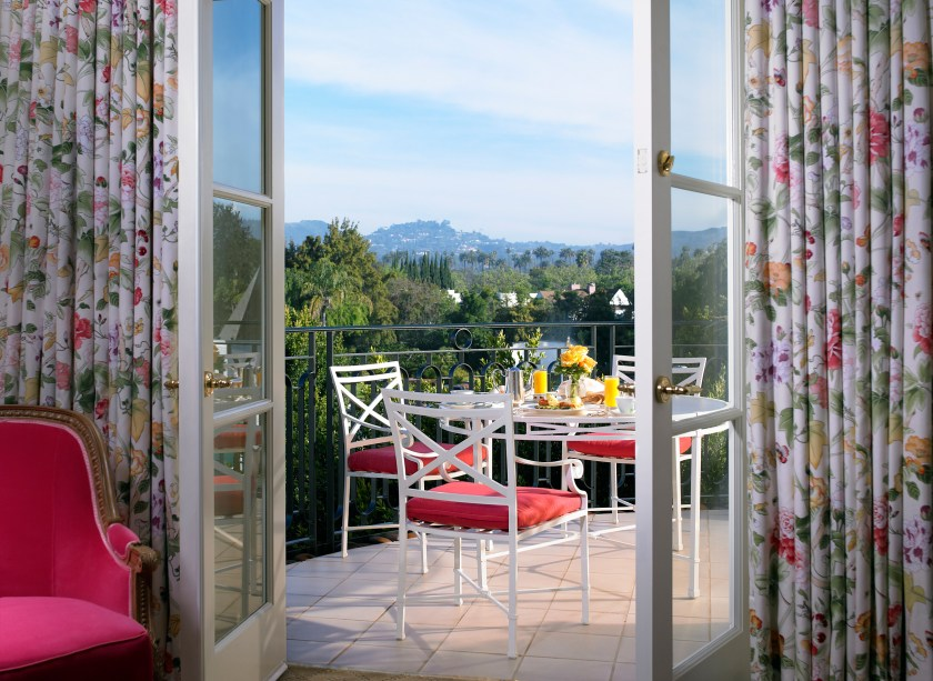 Superior Suite Terrace at The Peninsula Beverly Hills