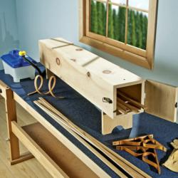 Includes the steamer and plans to make your own steam box