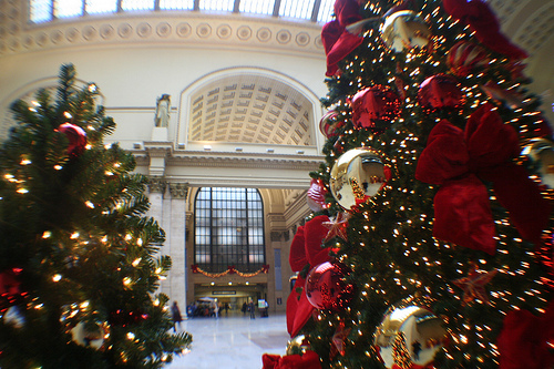TreeTime Decorates Union Stations Great Hall In