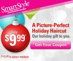 Festively Frugal 999 Haircut At SmartStyle