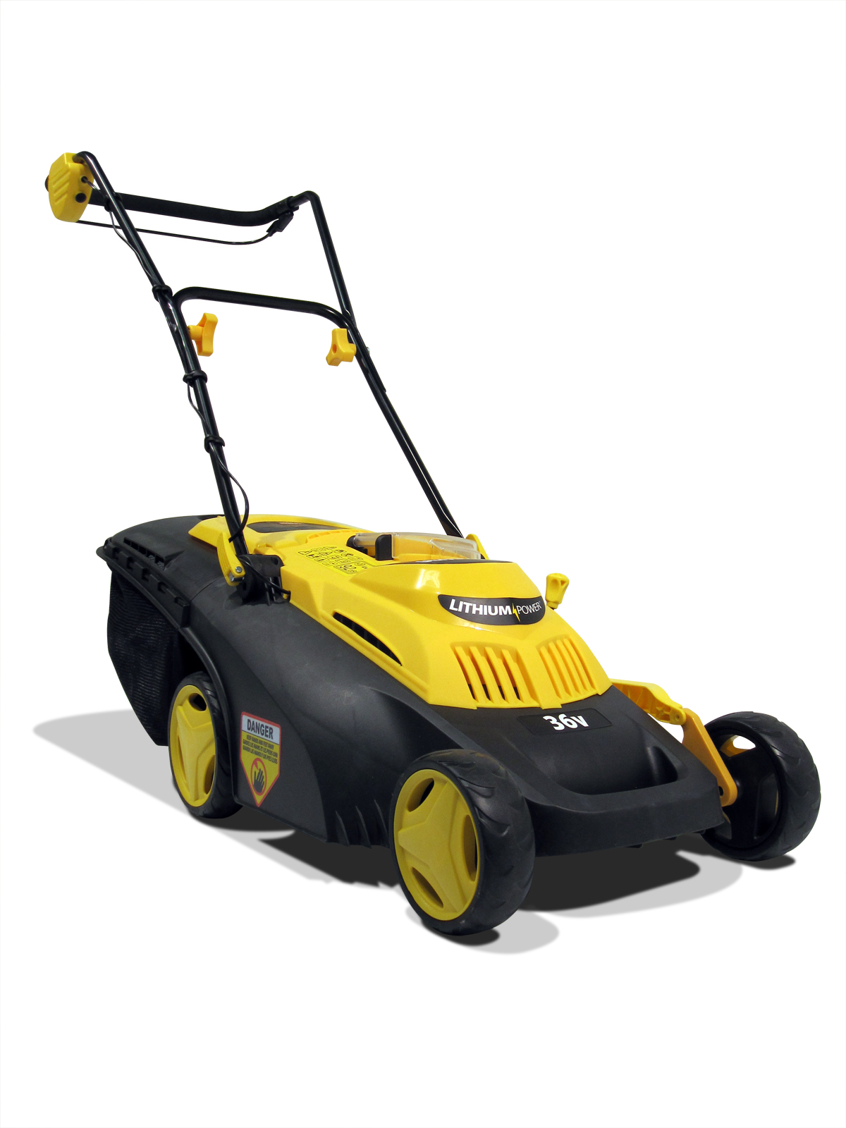 The New 2013 Recharge Mower G2 Increased Performance