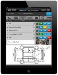 Automobile Inspection Ipad Cloud Apps Inspect2go