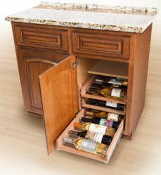In Cabinet Wine Racks Install In Five Minutes