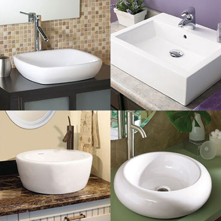 choosing bathroom lavatory sinks and mountings with 8 examples