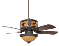Jhe S Log Furniture Place Expands Rustic Ceiling Fan Line