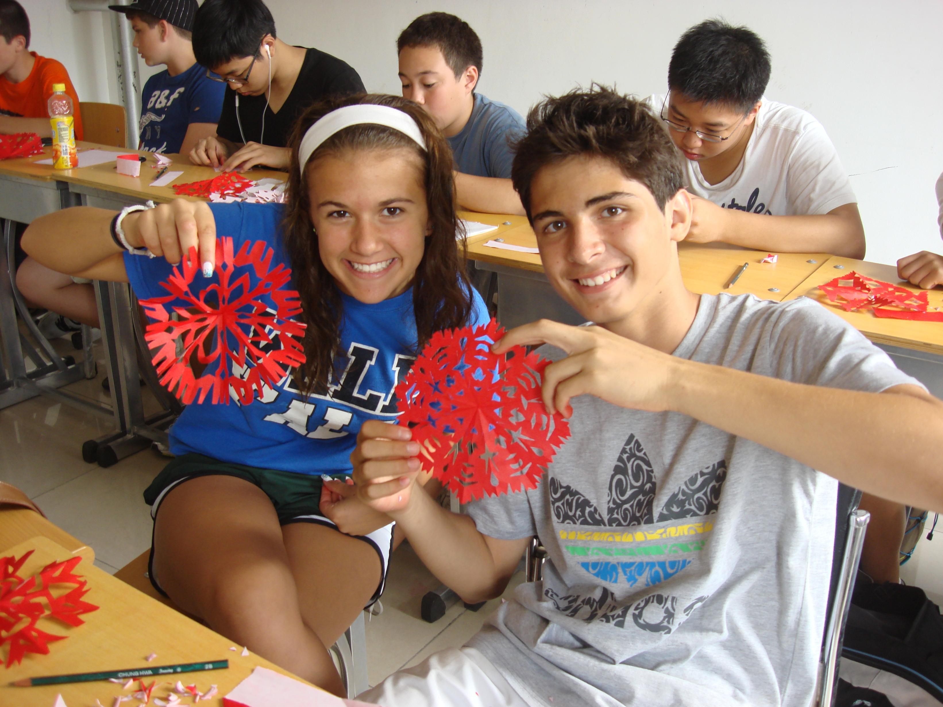Us High School Teens Study Chinese In Shanghai