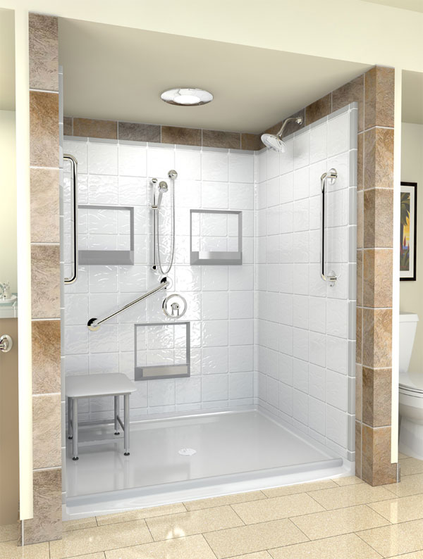Hydrotherapy Walk In Bathtubs Provider Aging Safely Announces Handicap Shower Systems For