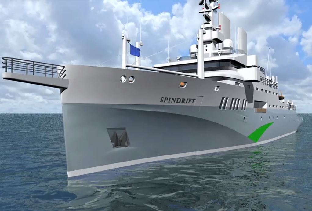 Dnv Designs Ship To Combat Plastic Pollution In World S Oceans