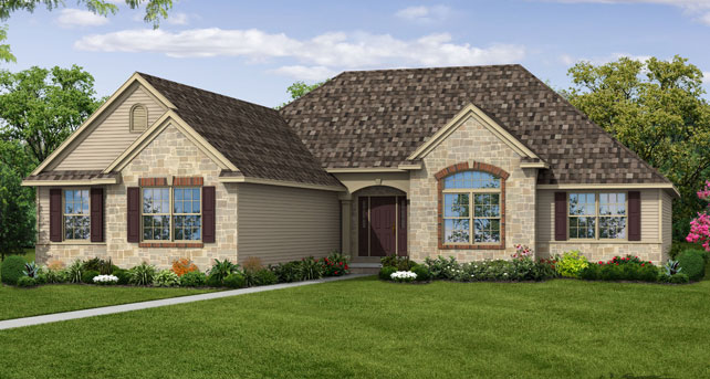 Wayne Homes Introduces New Ranch Style Model Home In Akron