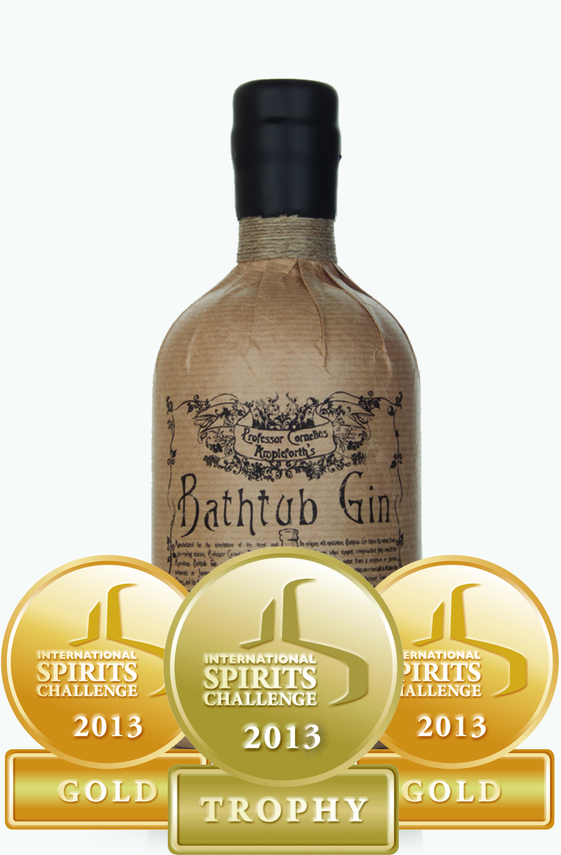Trophies Awarded To Bathtub Gin And Master Of Malt At The