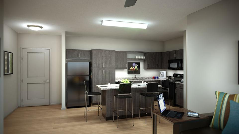 Leasing Center Now Open For Akrons Newest Student Housing
