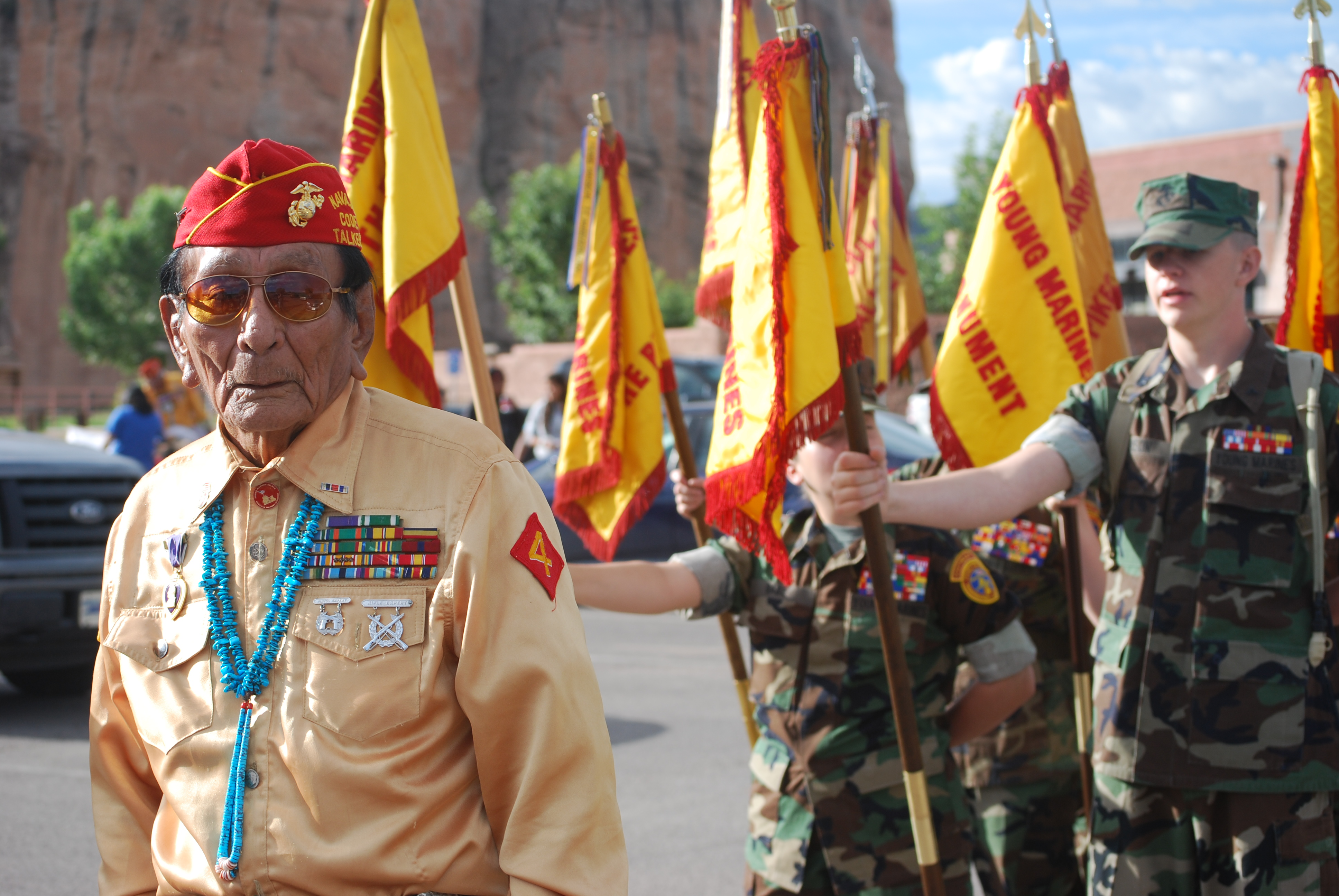 For The Young Marines Veterans Appreciation Week Is All Year Long