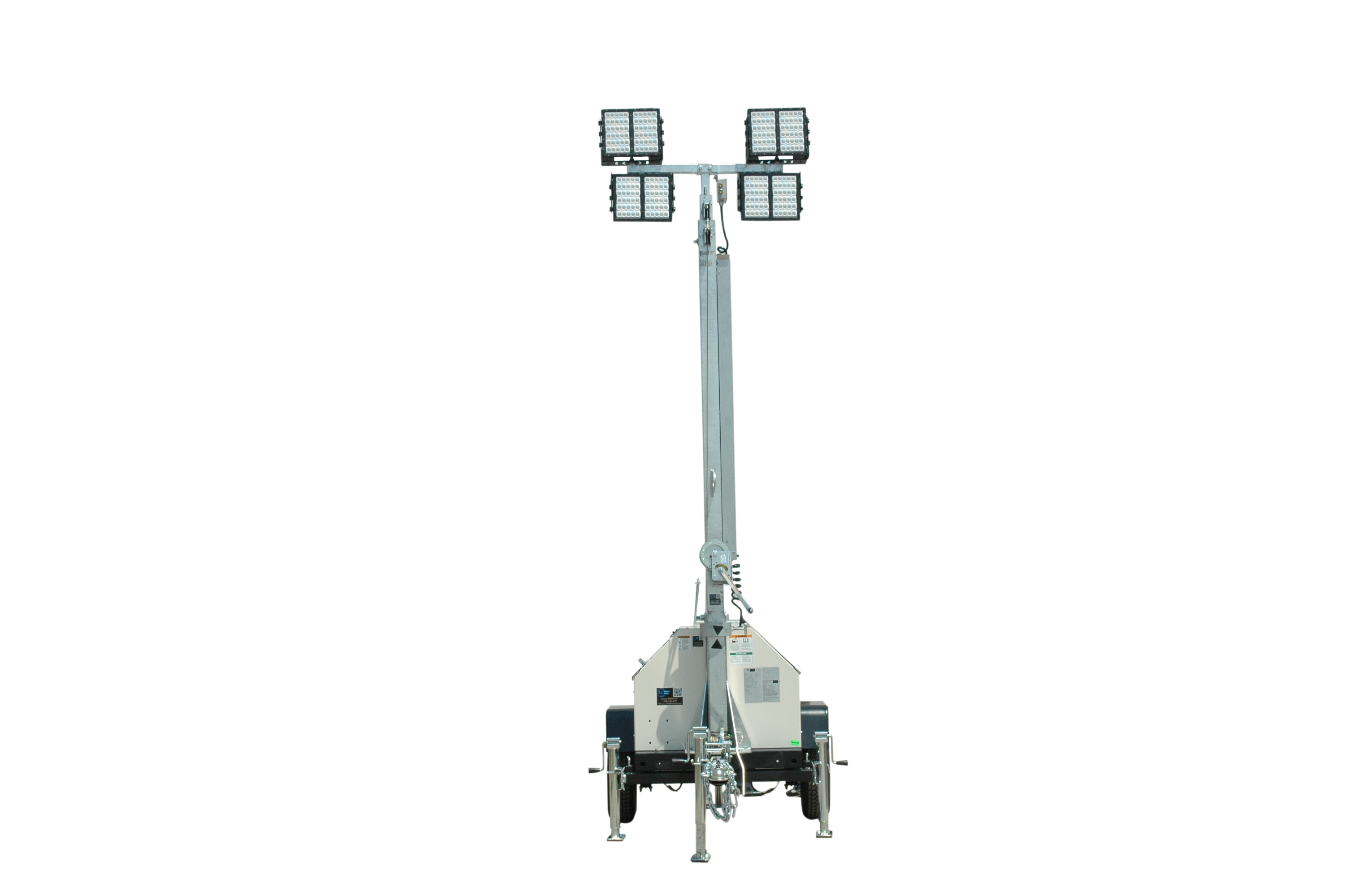 Mobile Led Light Tower Withsel Generator Released By