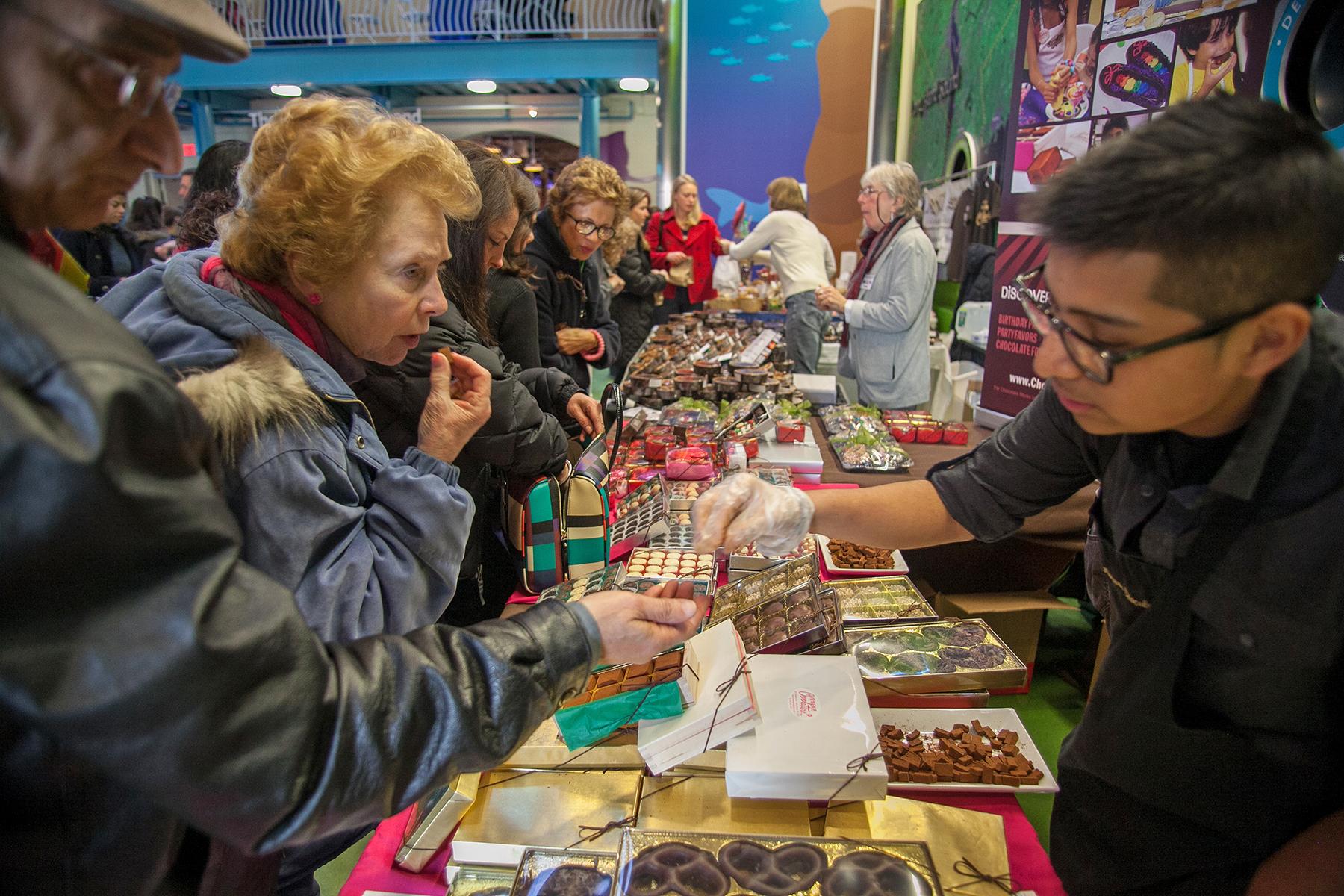Chocolate World Expo Takes Over Maritime Aquarium On Jan 26