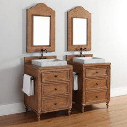 homethangs has introduced a guide to using light wood bathroom