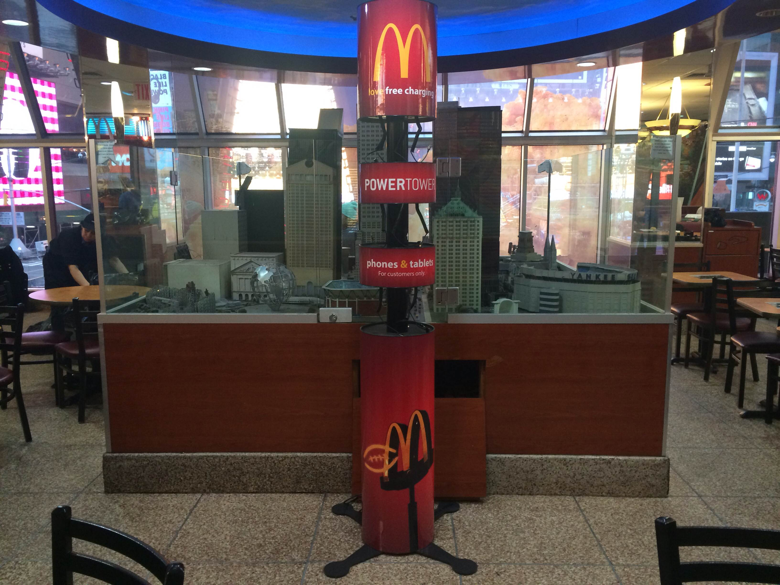 Power Tower Partners With McDonalds To Provide Cell Phone