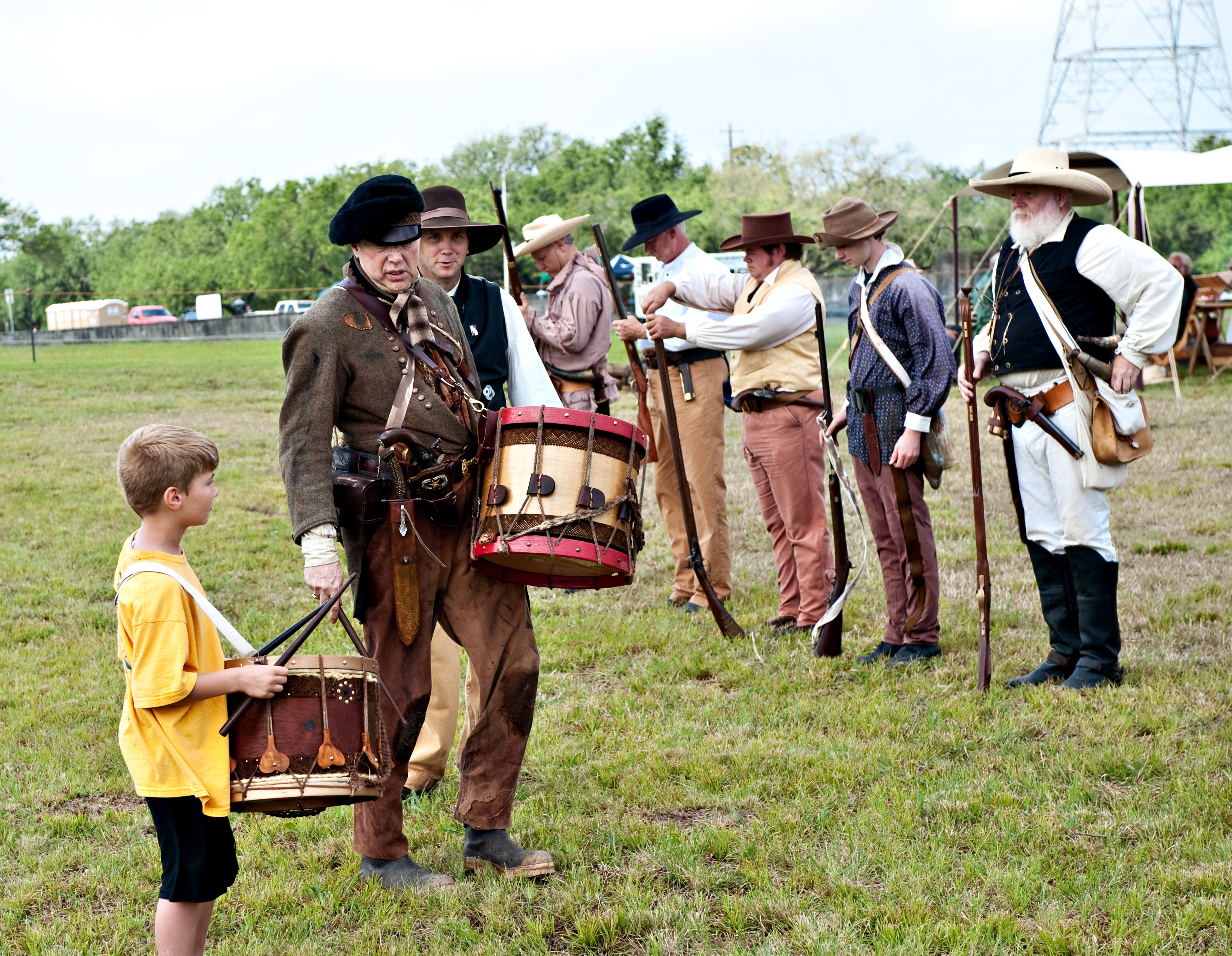 San Jacinto Day Festival And Battle Reenactment