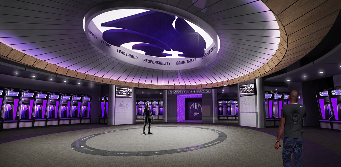 Kansas State Basketball Practice Facility