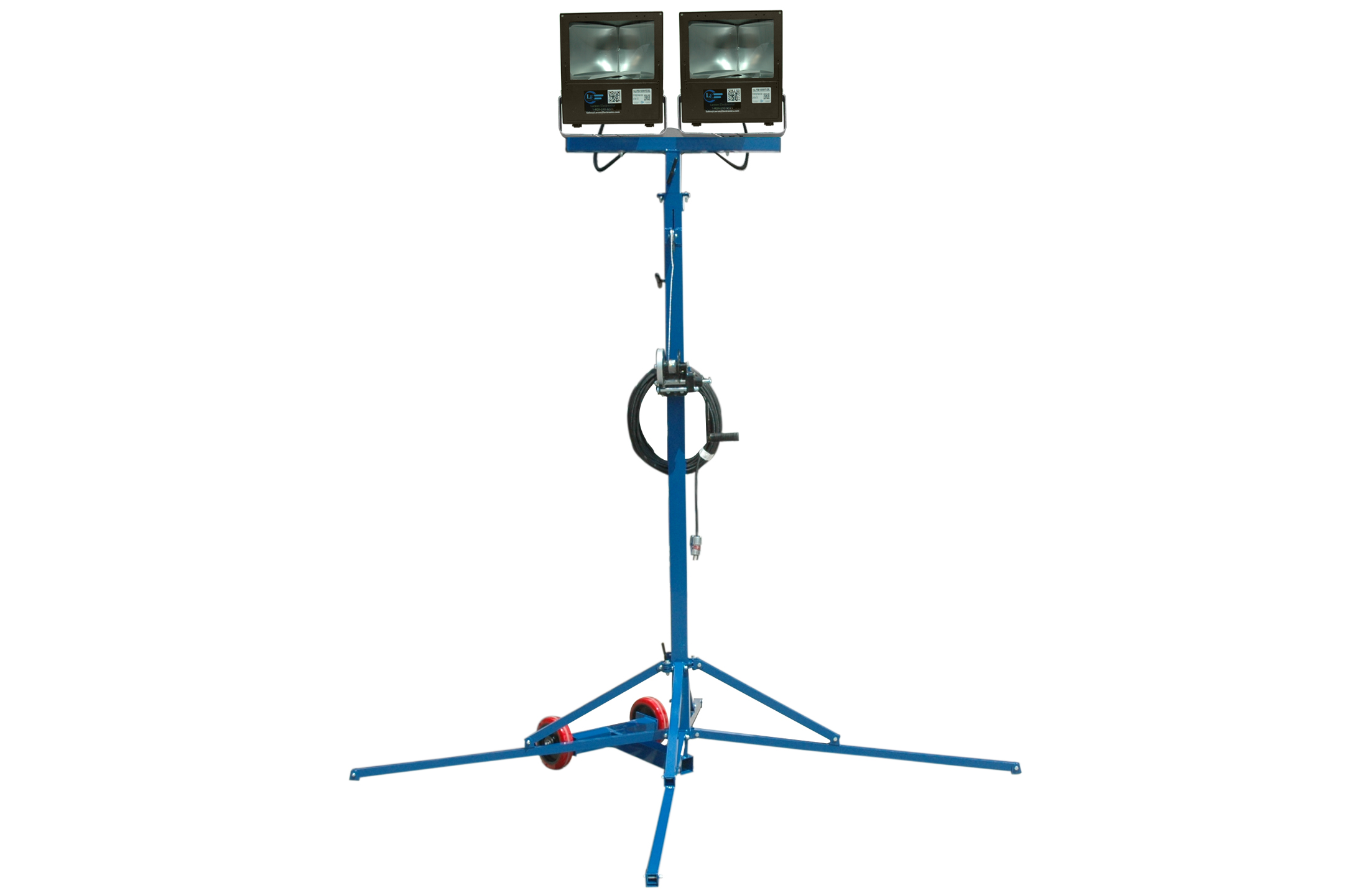 12 Telescoping Light Mast Equipped With Two Watt Metal Halide Light Fixtures Released By