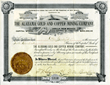 Scripophily.com Finds Stock Certificate Hand Signed by Legendary Sheriff, Pat Garrett, the Man Who Shot Billy the Kid