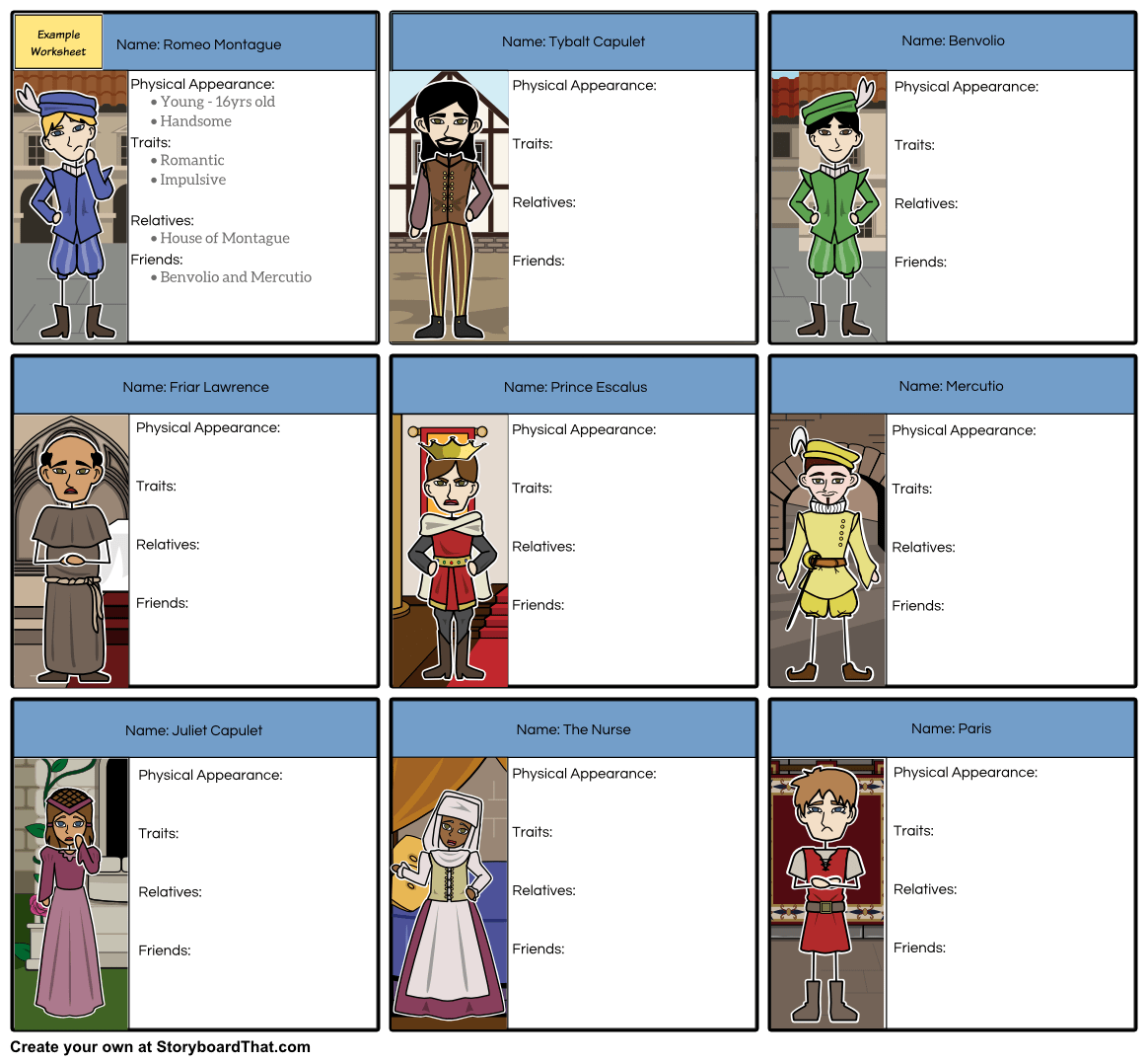 Storyboard That Is Proud To Announce Detailed Teacher Guides Filled With Amazing Educational