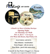 """Benefit Helping Doggies 911 Rescue at """"fiNdings Art Gallery"""" San Pedro's First Thursday Feast & Music Street Gala Nov 6, 6-9 PM airing on Dr. Carol Francis Talk Radio"""