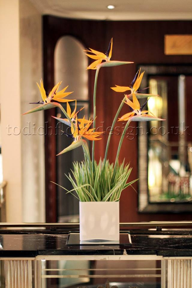 Emotional Power Of New Hotel Floral Arrangements By London