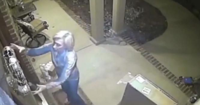 Security Camera Catches 63 Year Old Women Stealing