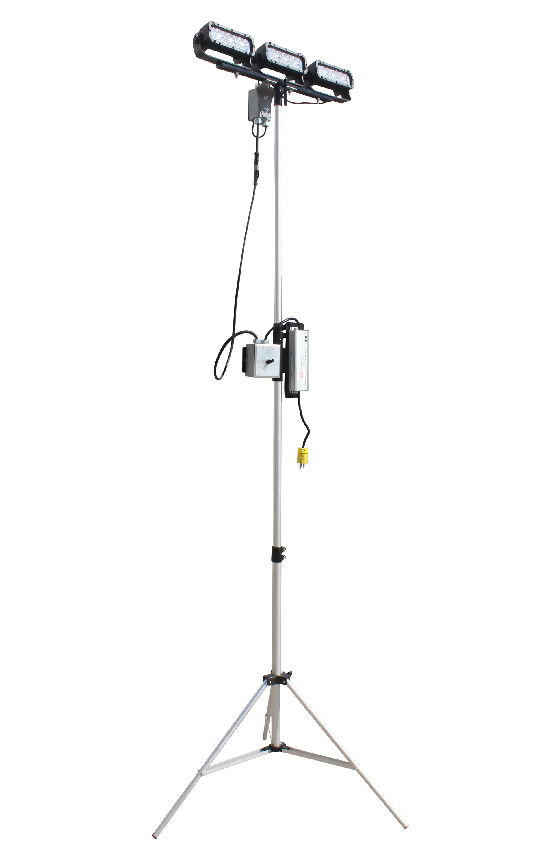 Larson Electronics Releases A 108 Watt Portable Led Telescoping Light Tower