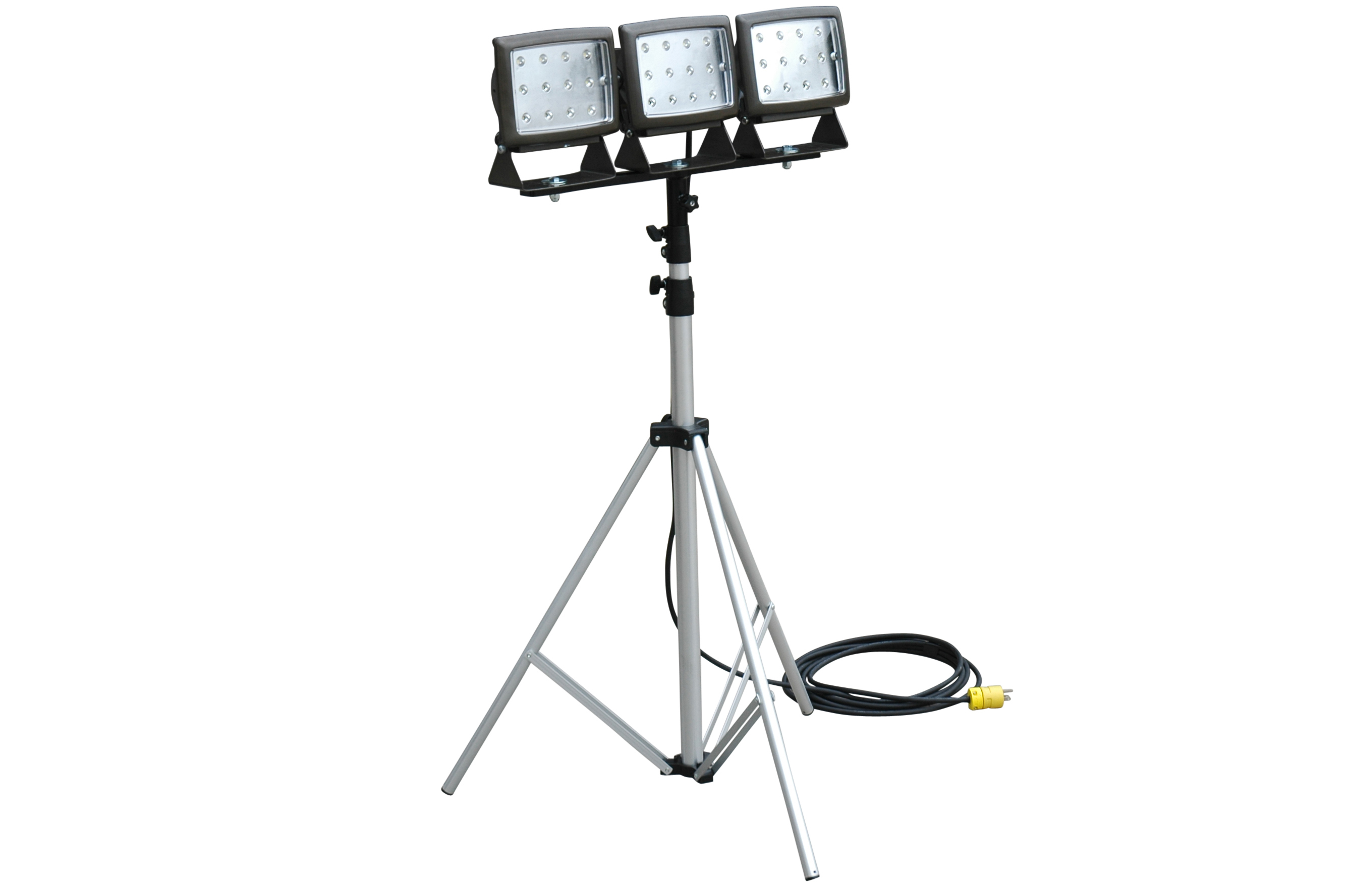 Larson Electronics Releases Triple Headed Portable Led