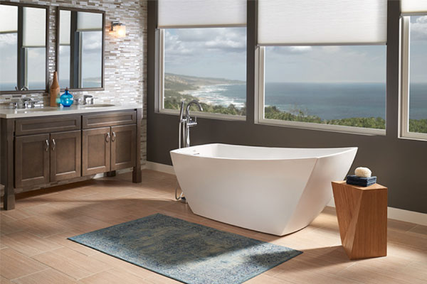 Jacuzzi Luxury Bath Debuts The Stella Freestanding Bathtub