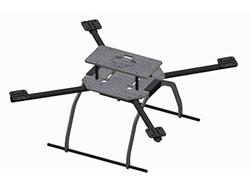 DragonPlate Carbon Fiber UAV Quadcopter Deluxe Frame Kit