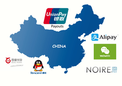 NOIREPay chinese alternate payment options