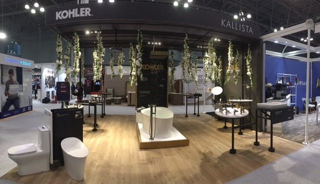KOHLER And KALLISTA Awarded Best Booth At Boutique