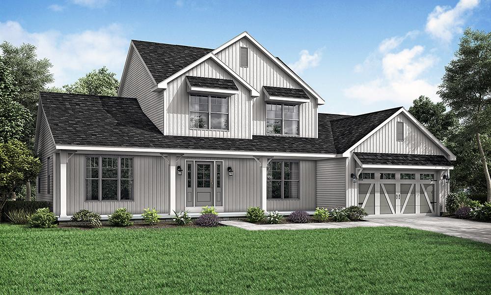Wayne Homes Announces New Farmhouse Elevation