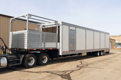 1200 kW Lithium-ion UPS Backup Battery Mobile Trailer