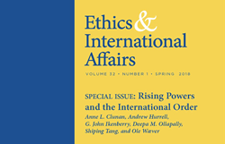Ethics & International Affairs Spring 2018 Issue