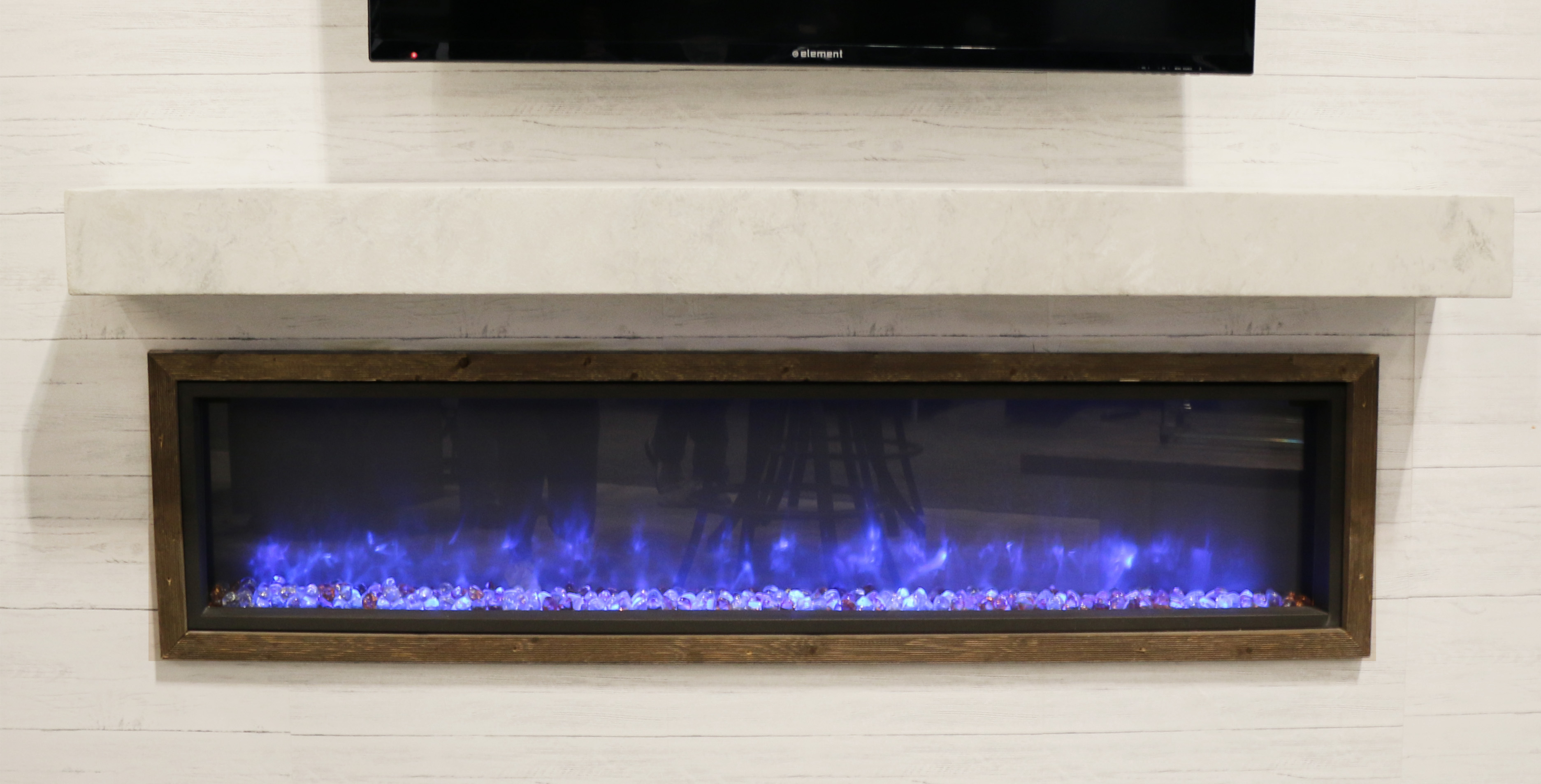 New Product White Onyx Non Combustible Supercast Mantel