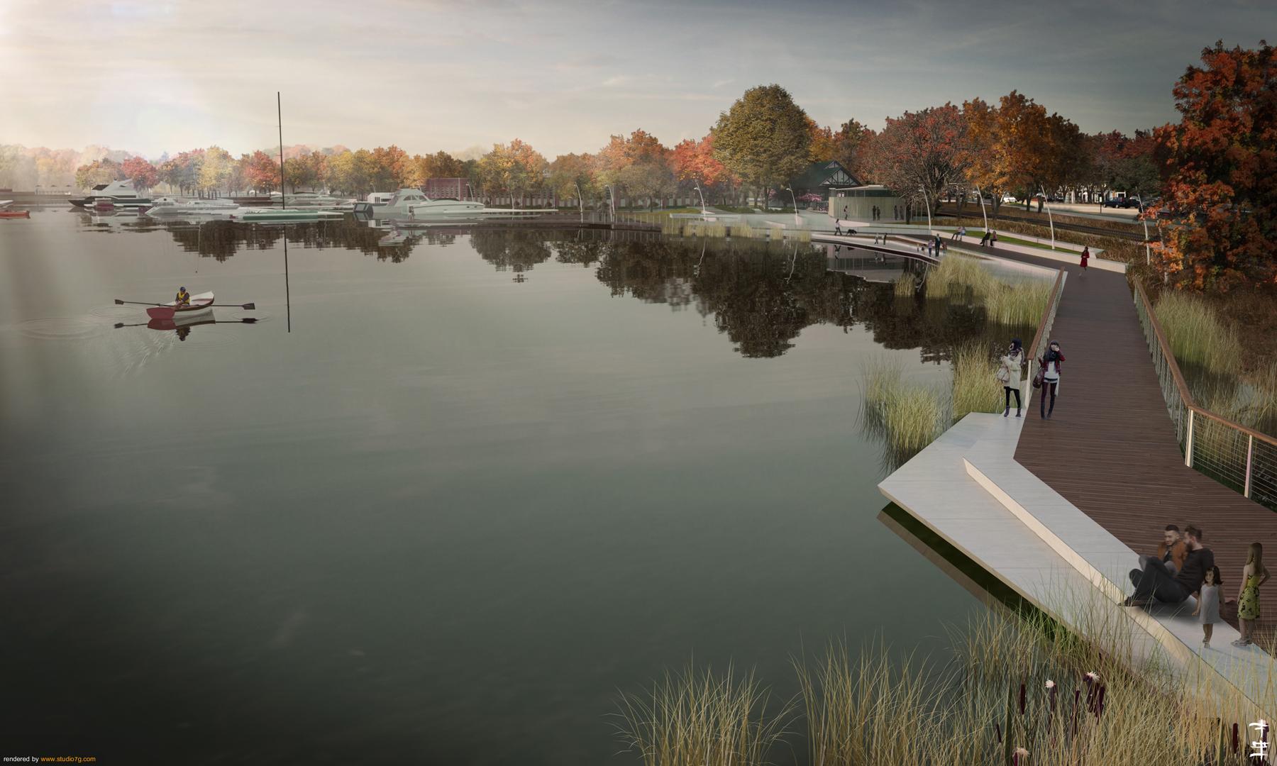 Award Winning Civitas Urban Design Plan For Lake
