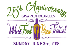 25th Anniversary Casa Pacifica Angels Wine, Food & Brew Festival, Yummie Top Chef Dinner, camarillo wine festival, Casa Pacifica Centers for Children and Families