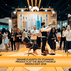 GKhair at Beautyworld 2018