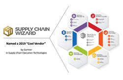 """Supply Chain Wizard Named a 2019 """"Cool Vendor""""  in Supply Chain Execution Technologies by Gartner"""