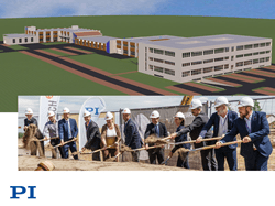 PI Ceramic breaks ground on production/office space expansion