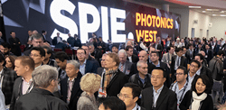 SPIE Photonics West 2019: Exhibitor-floor opening