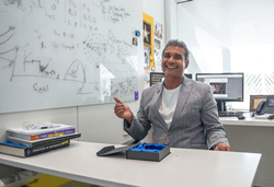 Florida Poly assistant professor Dr. Ajeet Kaushik has received the 2019 Universal Scientific Education Research Network (USERN) Prize in biological sciences, an international award recognizing his work in the field of nanomaterials for the detection and treatment of diseases.