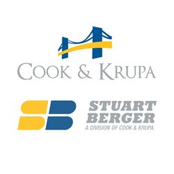 Cook & Krupa and Stuart Berger logos