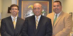 Drs. James Pace Jr., James Pace Sr., and Temp Sullivan, Dentists in Nashville, TN
