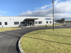 Catalent's new pharmaceutical packaging facility in Shiga, Japan